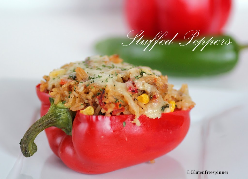 Stuffed Red Bell Peppers