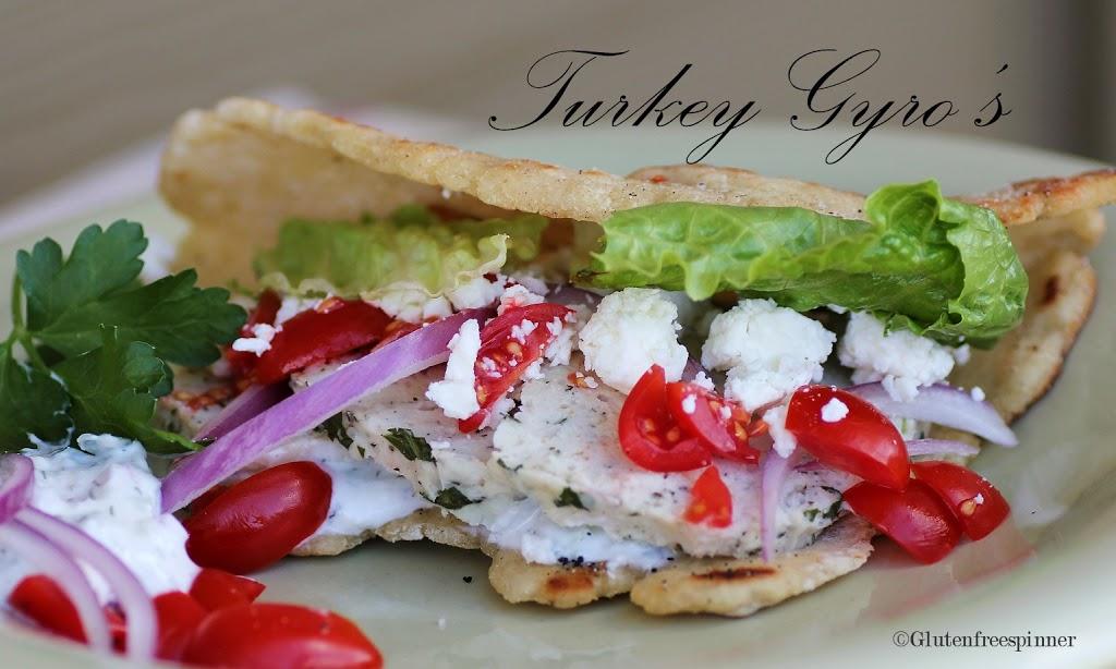 Turkey Gyro's with Flatbread