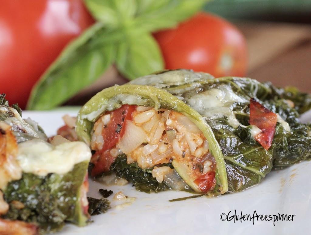 Kale and Zucchini Rolls