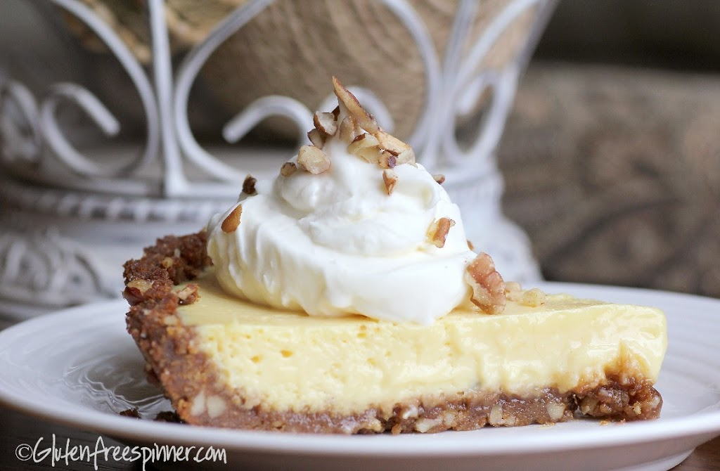 Key Lime Pie with Ginger Crust