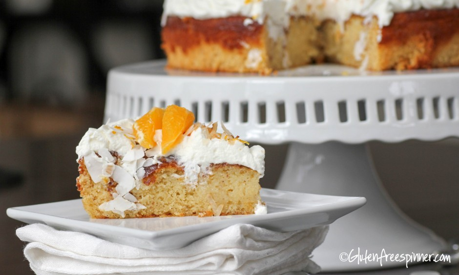 Coconut Orange Dream Cake