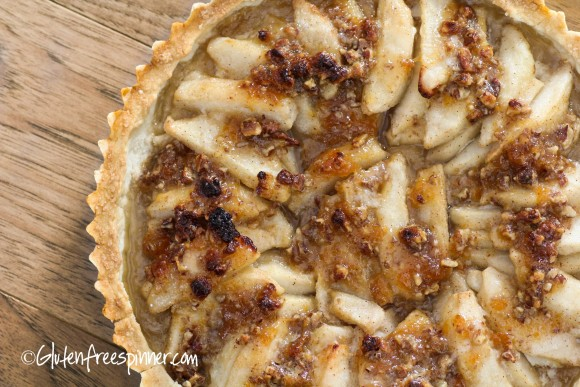 Pear Tart With Flaky Crust