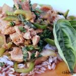 Thai basil chicken.5