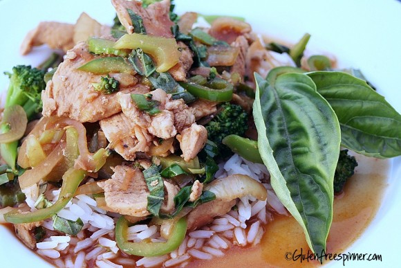 Thai basil chicken.5