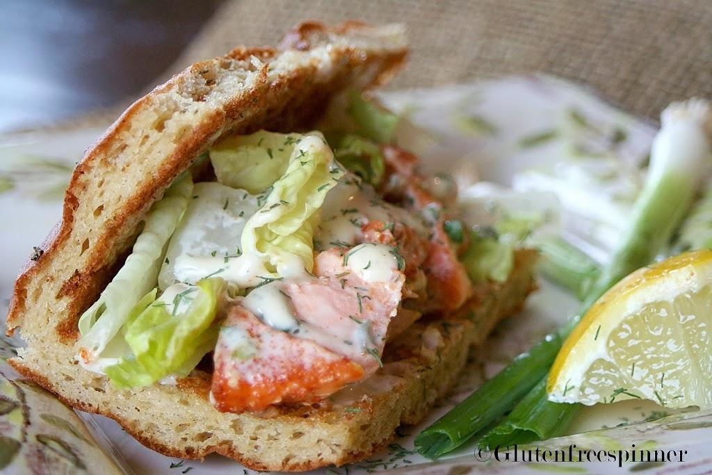 Focaccia Sandwich Bread