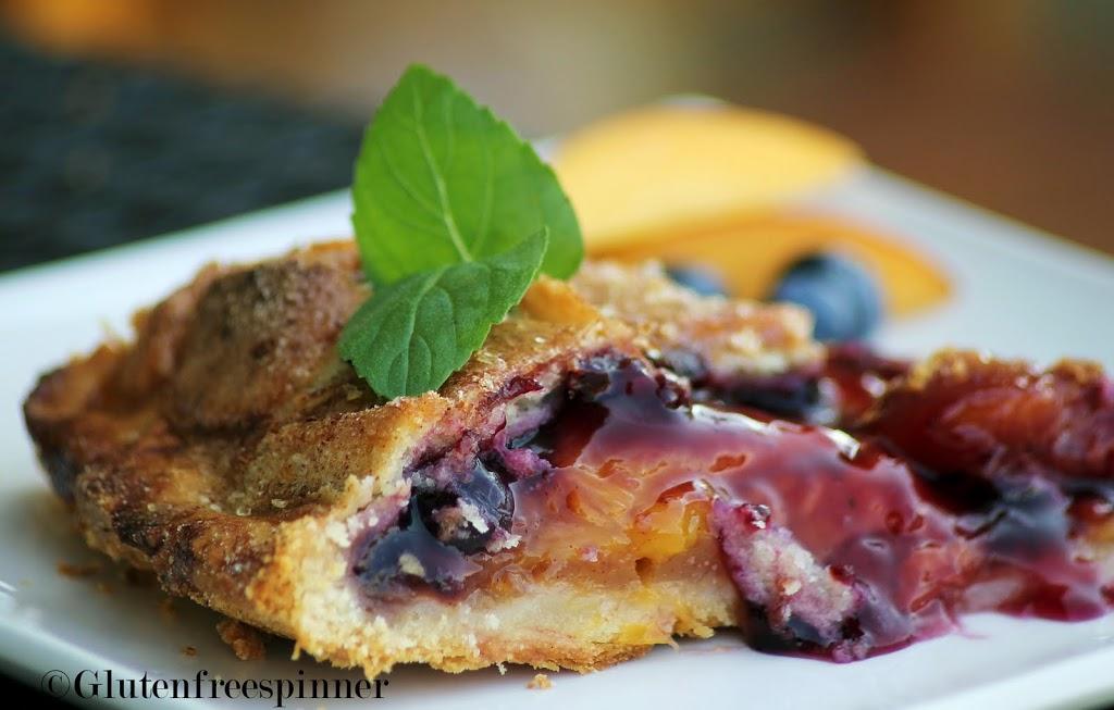 Peach Berry Pie with Lattice Crust