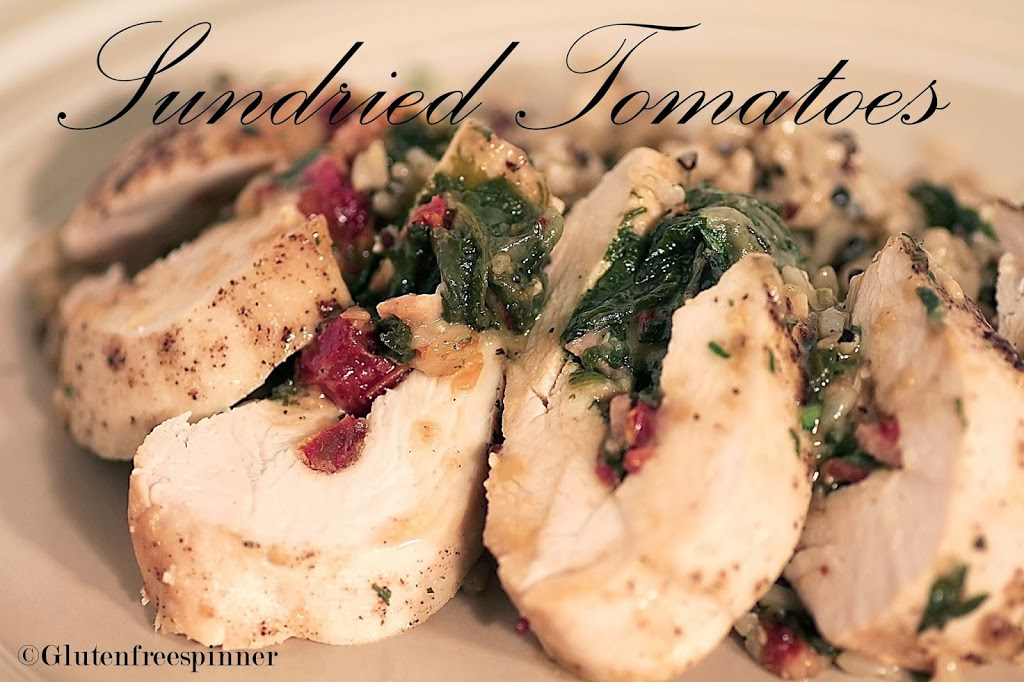 Sundried Tomato and Spinach Stuffed Chicken Breasts