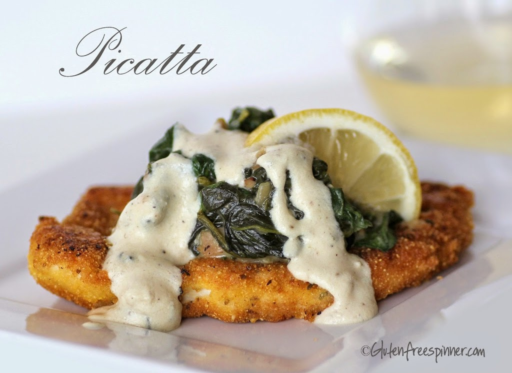 Chicken Picatta with Sauteed Spinach