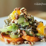 wild rice grape salad