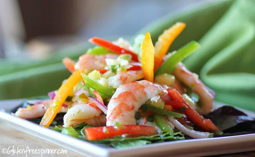 Shrimp Salad – Tropical