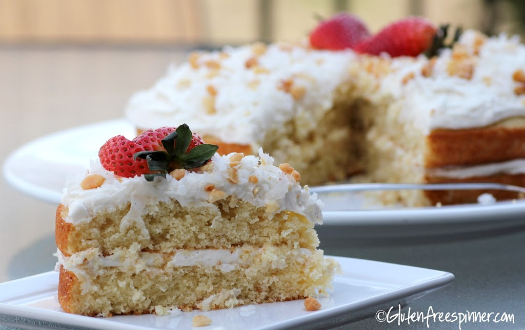 Vanilla Bean and Macadamia Nut Layer Cake