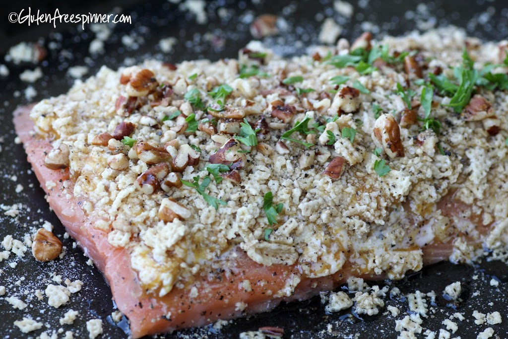 recipe: pecan crusted baked salmon [20]..