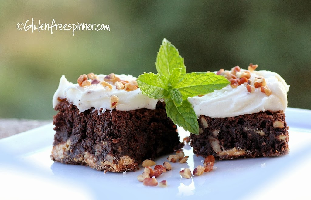 Brownies: Cherry-Choc-Pecan Frosted – Food Love