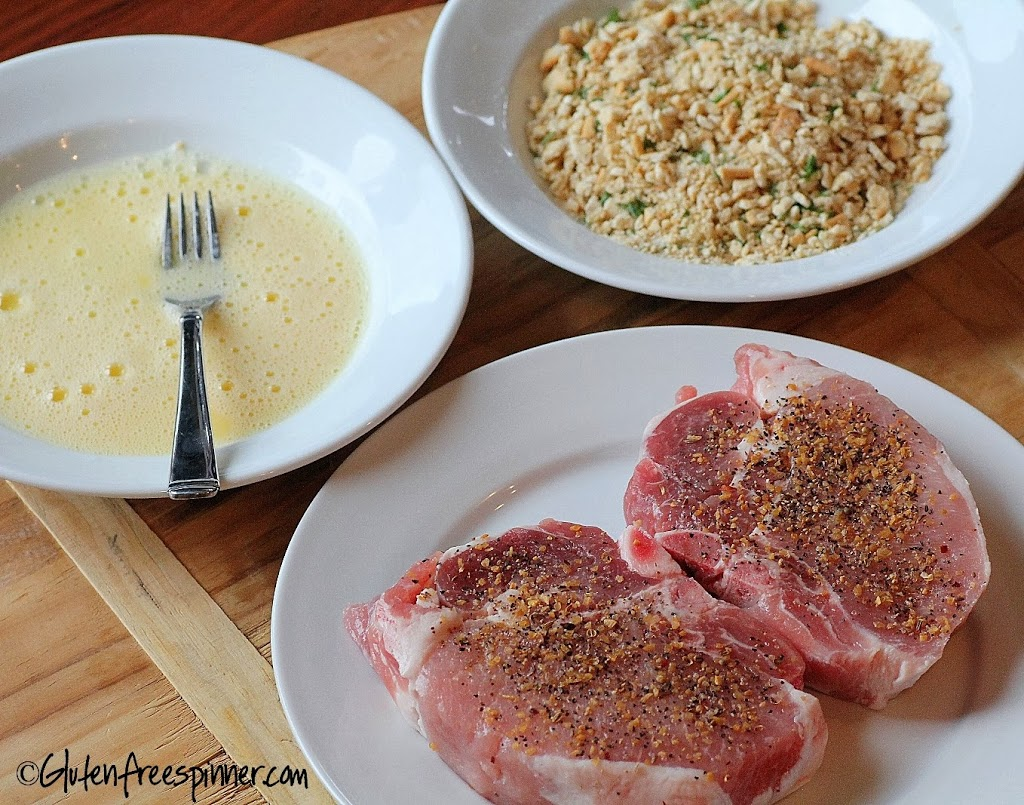 Pork Chops – Crisp Cracker Crusted