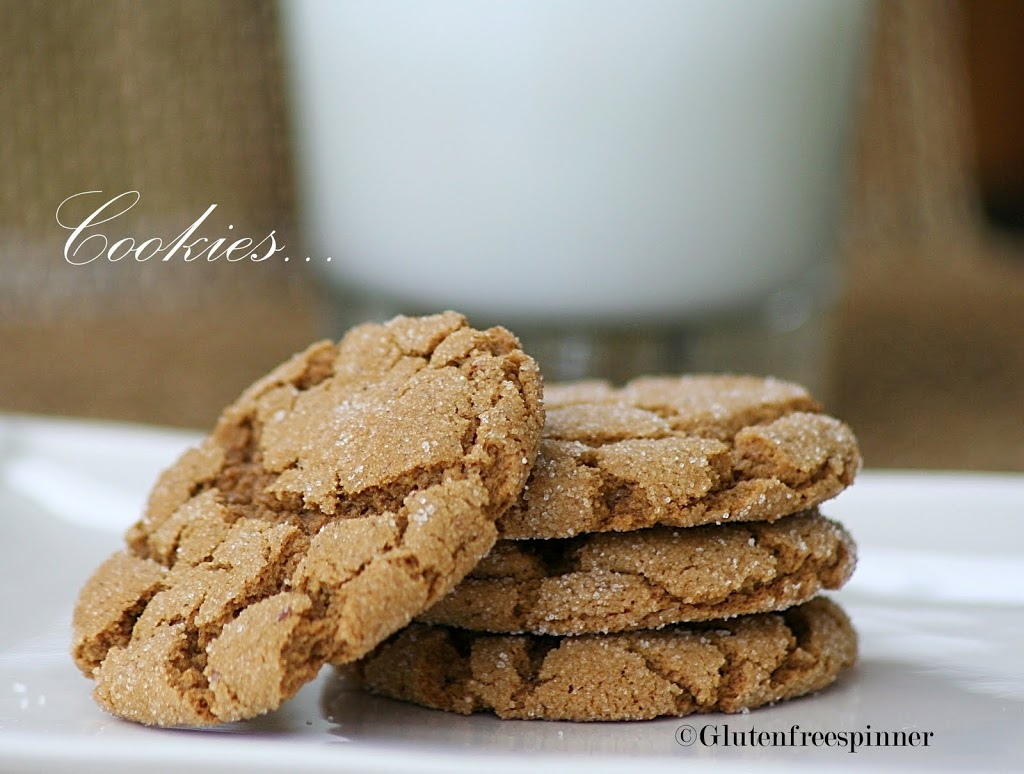 Molasses Ginger Cookies – Frosted for the Holiday