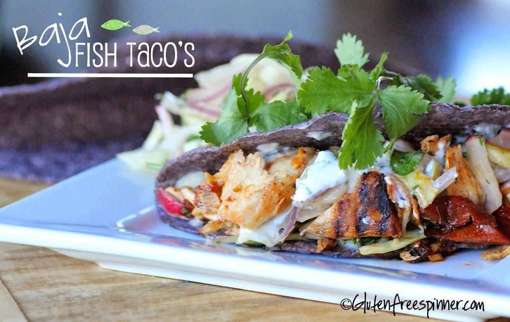 Fish Taco's Baja Style – with Radish Slaw