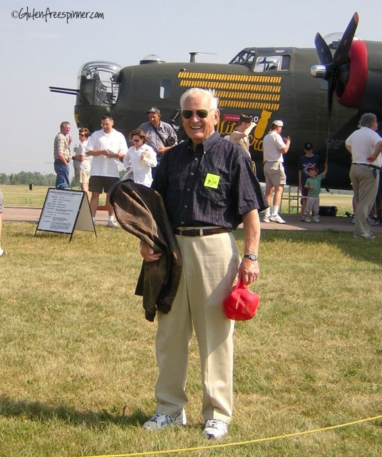 veteran, WWII, Nose Gunner, B-24