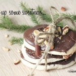 butter cookies, christmas, chocolate, almonds gluten free