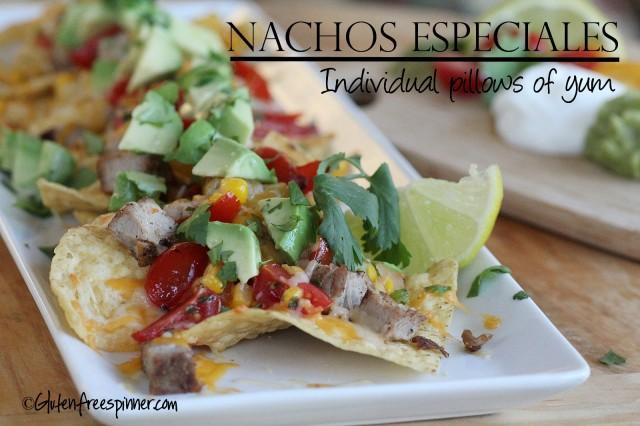 Nachos, gluten free, Nachos Especiales