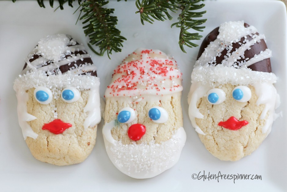 decorated butter cookies, christmas cookies, gluten free