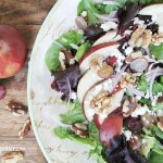 winter pear salad, gluten free, pears,