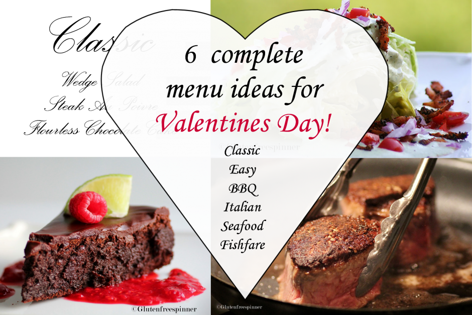 Menu Ideas For your Valentine Meal