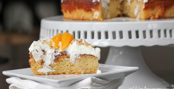 Coconut Orange Dream Cake