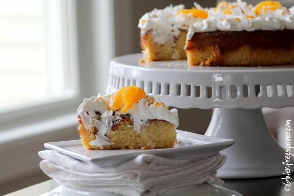 gluten free coconut orange cake