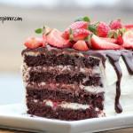 gluten free Tuxedo Cake