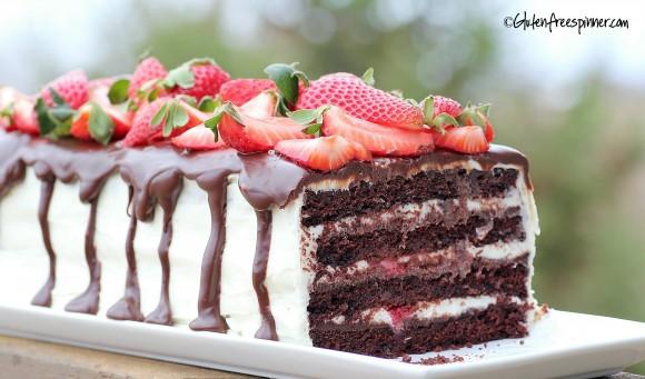 gluten free tuxedo cake.GFS
