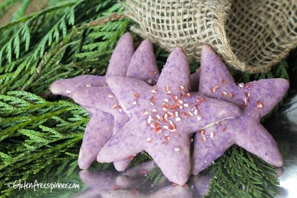 cutout stars purple