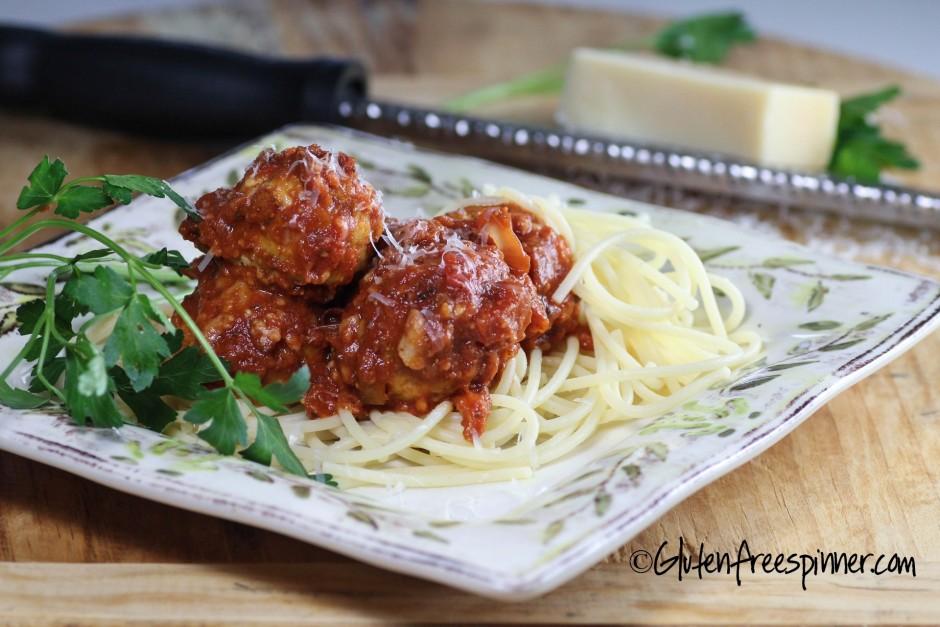 Turkey Meatballs Italian Style