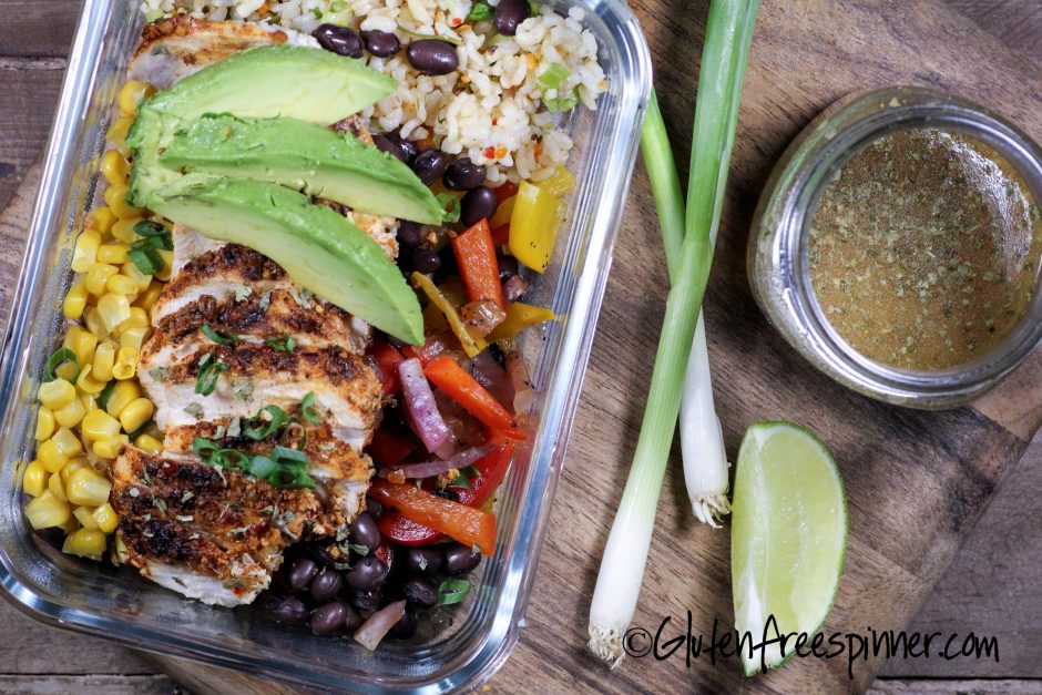 Fajita Lunch Bowls