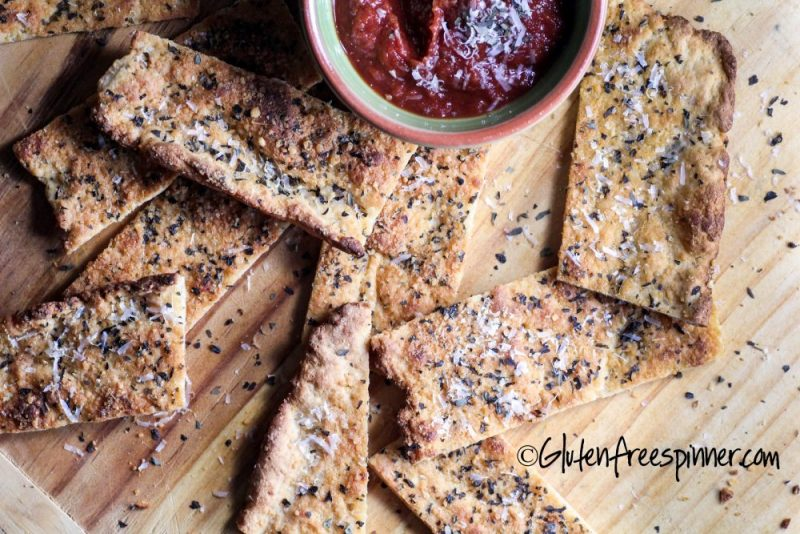 Flatbread with Herbs and Parmesan