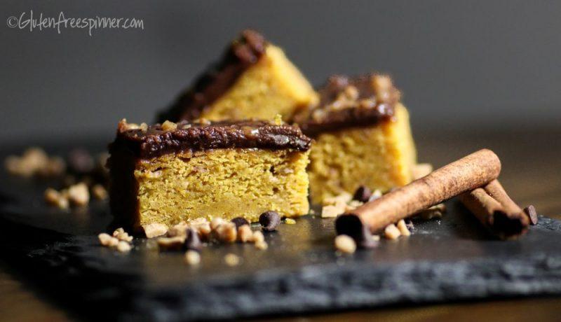 Pumpkin Spice Toffee Bars
